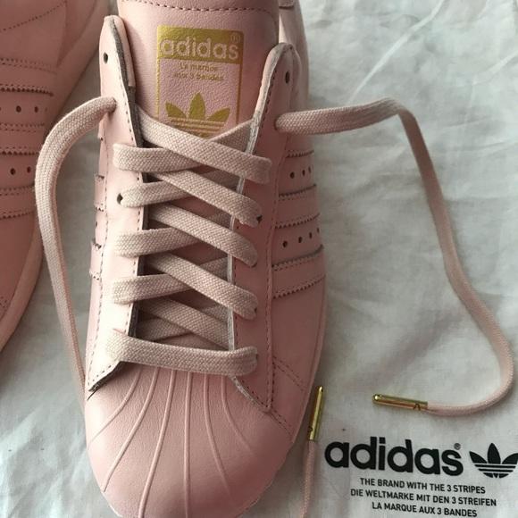 Nouveaux produits 0aae7 e4f90 Adidas Pink size 7 custom made. NWT